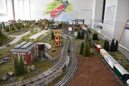 model zeleznice